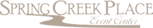 Spring Creek Place Event Center logo